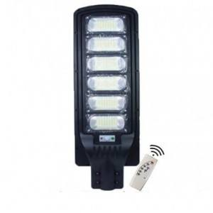 Улична соларна лампа, мощни LED диоди 600W, 6000K, IP65