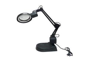 Лампа с лупа за ремонти и четене