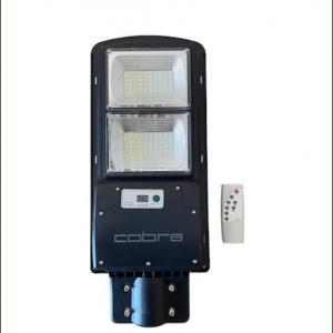 Улична соларна лампа Cobra 230W, IP65, сензор за движение