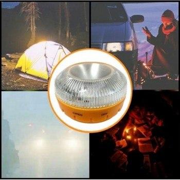 Аварийна магнитна лампа, 9V, IP54 водоустойчивост