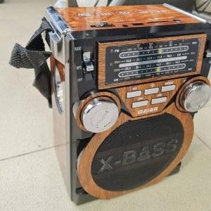 Акумулаторно рарио Meier X-BASS M-U17, 4 BAND, AUX, MP3, USB/SD
