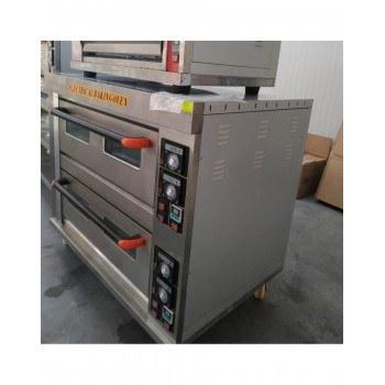 Електрическа фурна на две нива, 4 тави х 60/40см, трифазна, 400 градуса