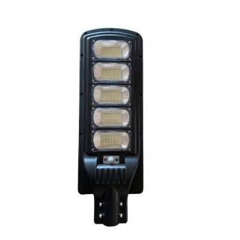 Улична соларна лампа JMK 500W, сензор движение, дистанционно управление