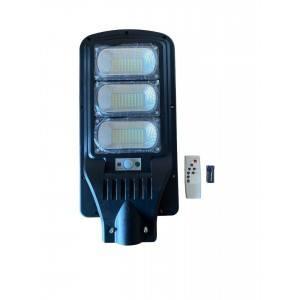 Улична соларна лампа JMK 300W, сензор движение, дистанционно управление