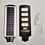 Улична соларна лампа JMK 800W, сензор движение, дистанционно управление