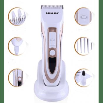 Машинка за подстригване Nikai-NK 1803, керамичен нож, акумулаторна батерия