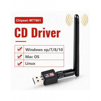 Wireless USB адаптер за интернет 900Mbps 2.4 GHz 802.11
