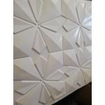 Самозалепващи 3D PVC панели тапети 50 х 50см, бял цвят
