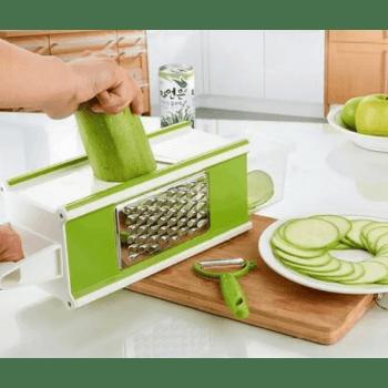 Многофункционално ренде Multi Purpose Grater, 4 ножа, контейнер
