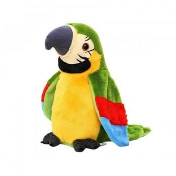 Говорящ плюшен папагал