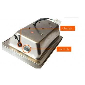 Електронен кантар до 150 кг, чупеща глава, платформа 30 х 40 см.
