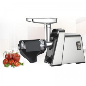 Месомелачка Finlux FMG-14BIX 1400W, приставка за домати, обратен ход