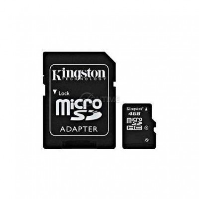 Memory картa KINGSTON MICRO SD CARD 4GB