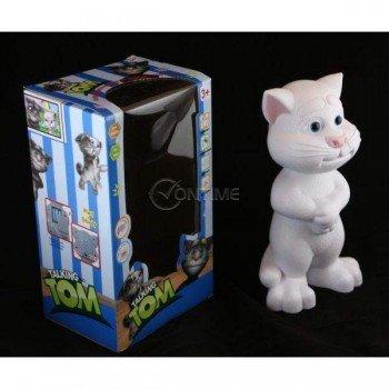 Говорящ Том играчка - вече и снежно бял и още по-забавен