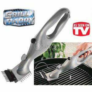 Grill Daddy - идеалният помощник за почистване на барбекюта и скари