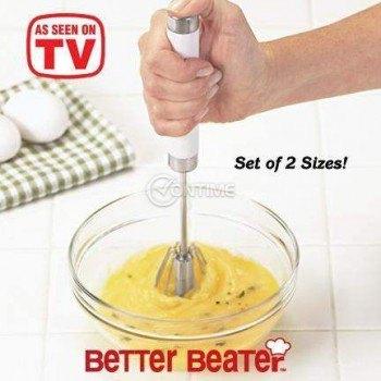 Бъркалка Better Beater за яйца, сосове, дресинги и питиета .