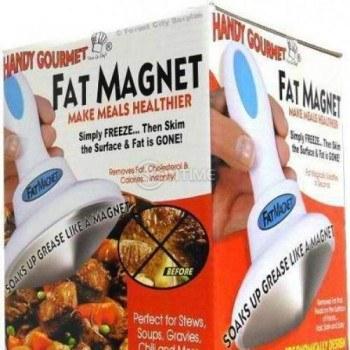 Приспособление за отделяне на мазнини от ястия Fat Magnet