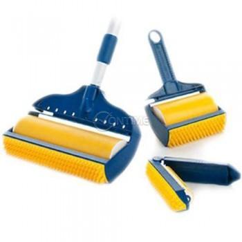 Ролери за почистване на косми и прах в три части StickPro