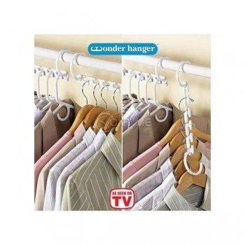 Закачалка за дрехи triple closet space