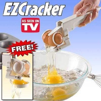Ez Cracker - за по-лесно чупене на яйца и отделяне на белтъци
