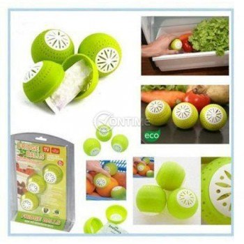 Десорбатори 3 броя Fridgeballs за хладилник - запазва свежестта на плодовете и зеленчуците