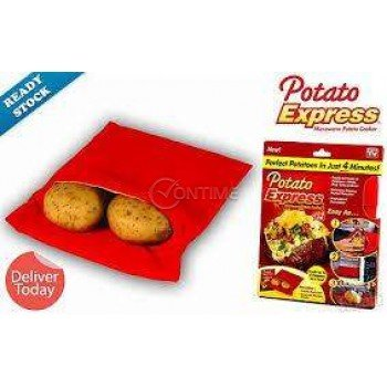 Вкусни варени картофи в микровълновата фурна с Potato Express