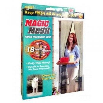 Комарници премиум Magic Mesh с магнитно закопчаване