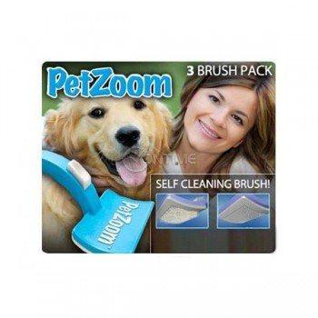 Четка за домашни любимци Pet Zoom