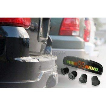 Парктроник с 4 датчика и цветен LCD дисплей