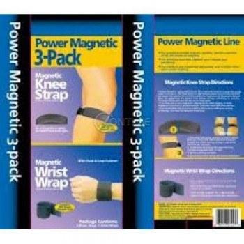 Магнитен колан на д-р Ливайн плюс магнитна наколенка и магнитна лента за китка