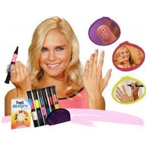 Комплект химикали за невероятен маникюр - Hot Designs Nail Art Pens