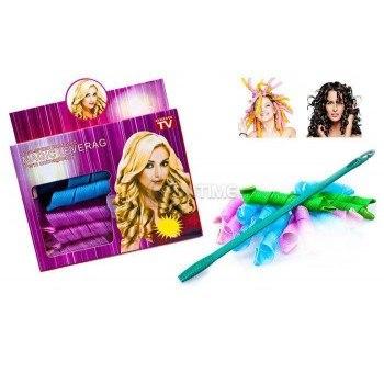 Вълнообразни къдрици с ролки за коса Magic Leverag